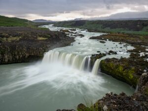Þjófafoss waterfalls in Iceland