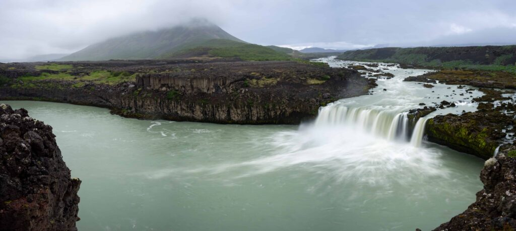Þjófafoss waterfalls in Iceland