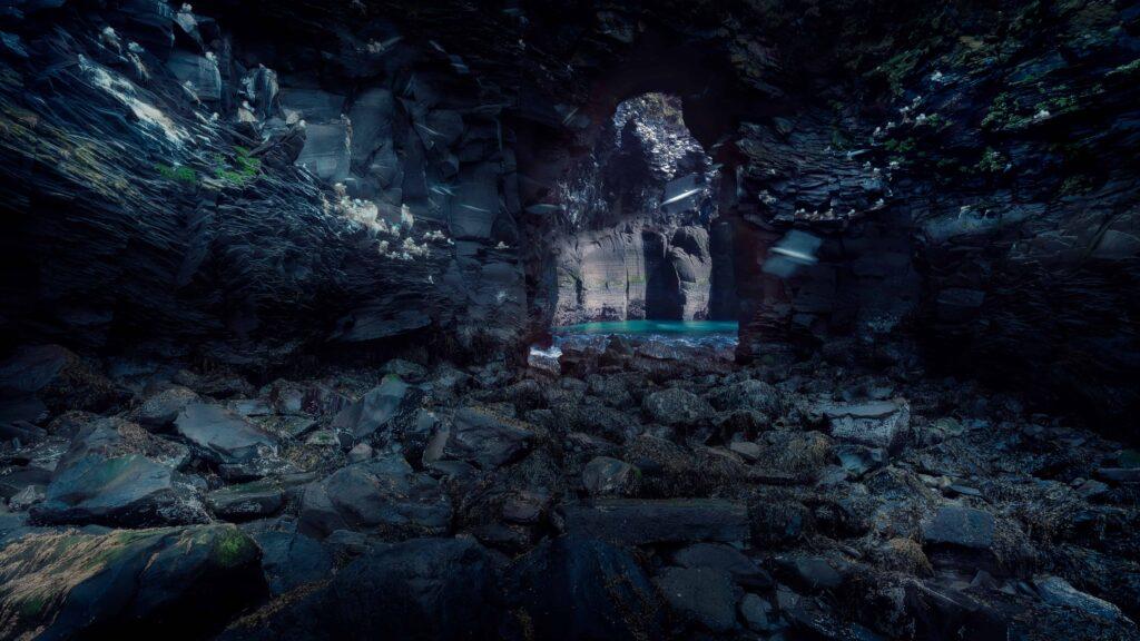 cave in Hellnar - Snæfellsnes Peninsula