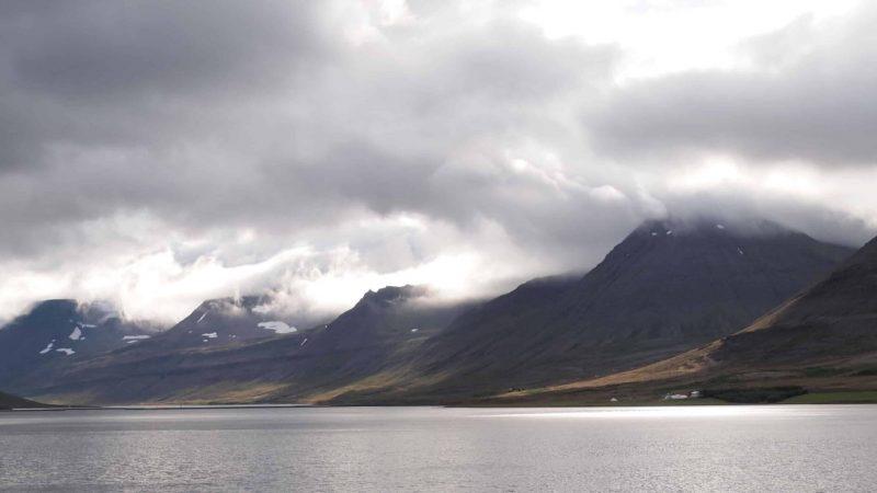 fjords in the Westfjords of Iceland
