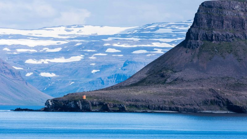 Bíldudalur in the Westfjords of Iceland