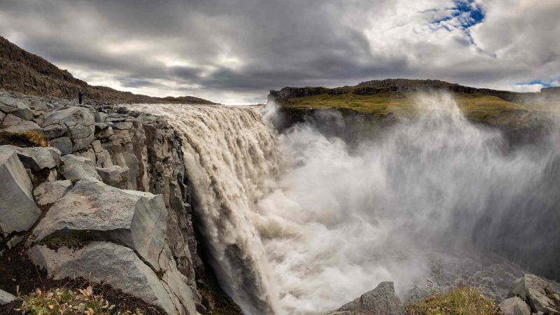 Dettifoss the most powerful waterfall in Europe