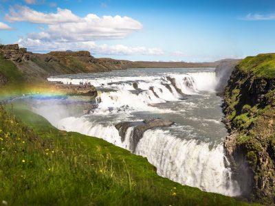 Gullfoss waterfall in Golden Circle