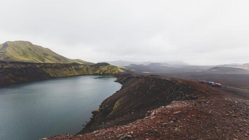 Ljotipollur Landmannalaugar Crater Lake