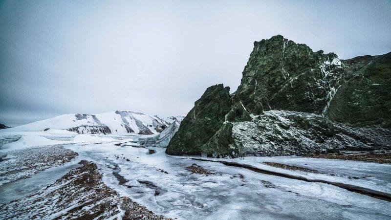winter in Landmannalaugar