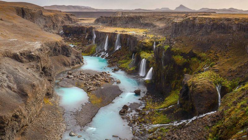 Sigöldugljúfur canyon - Highlands of Iceland