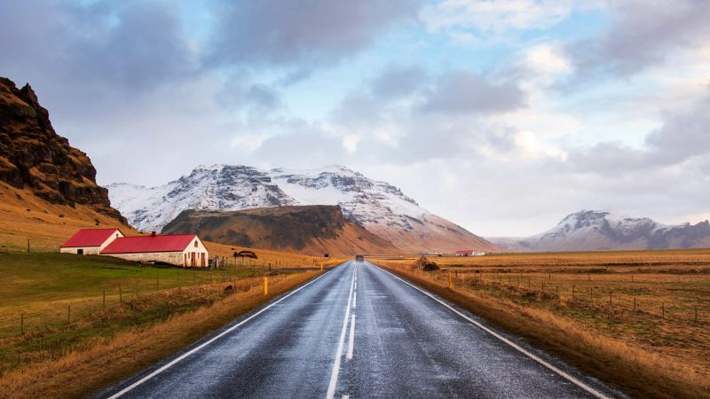 Iceland autumn road trip