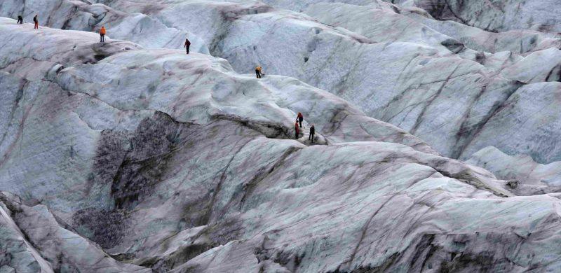 glacier hike in Iceland