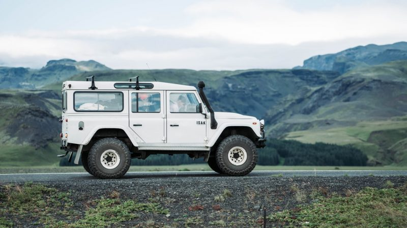 Jeep in Iceland
