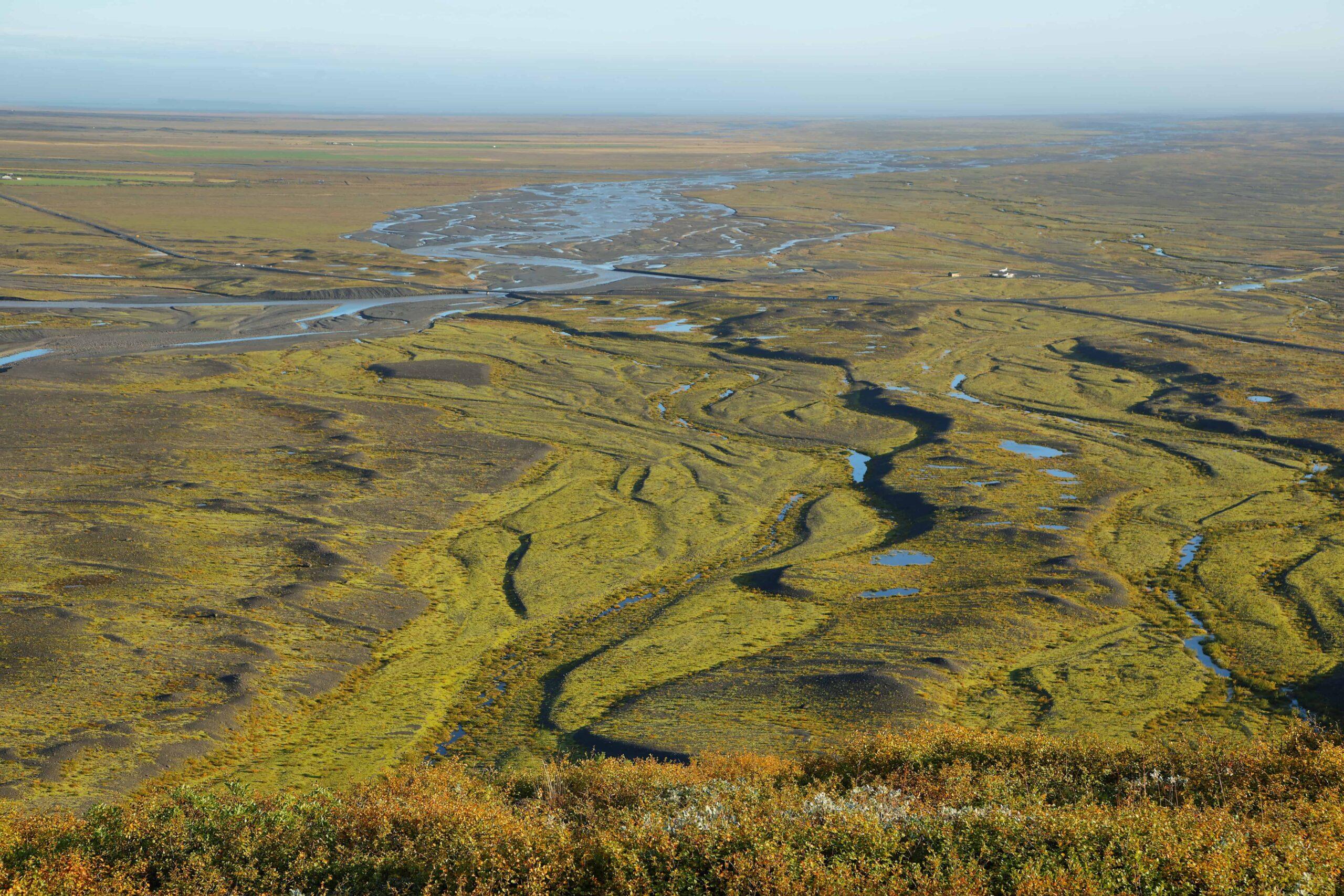 Sjónarnípa view point in Skaftafell Nature Reserve