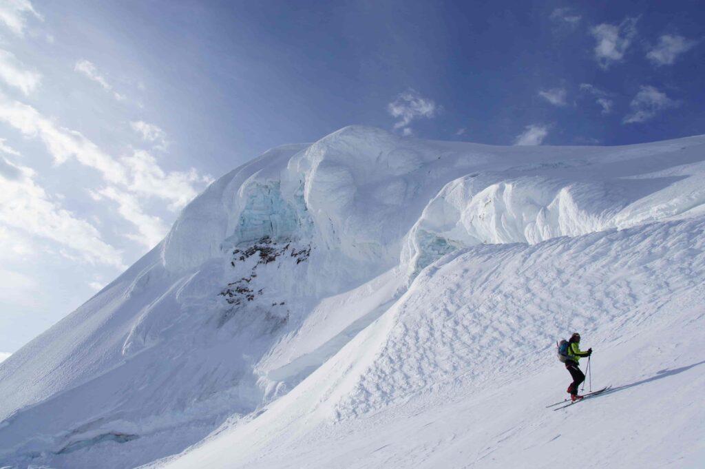 Iceland skiing