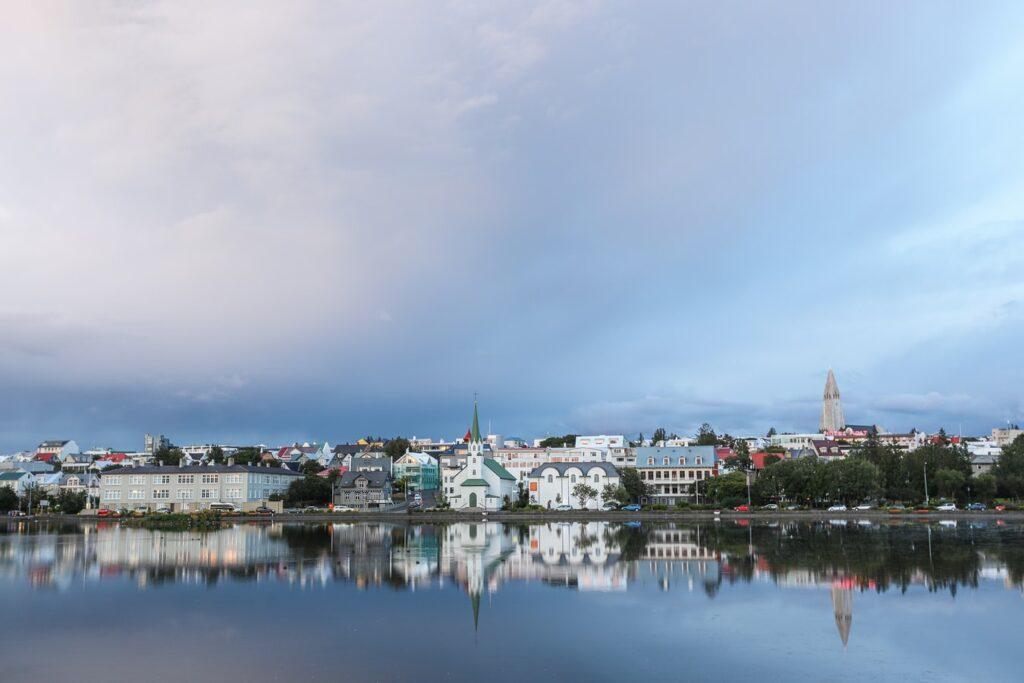 Tjörnin in Reykjavik