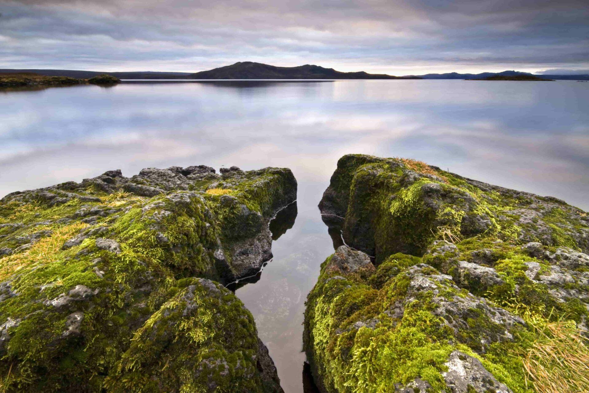 Thingvallavatn lake in Thingvellir National Park in Golden Circle