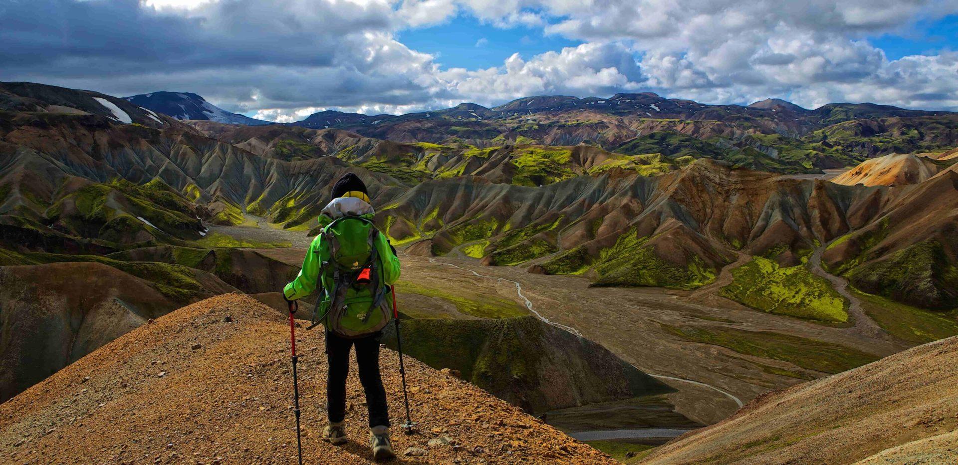 Highland Hiking in Iceland