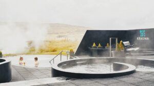 Krauma geothermal baths and spa in Krauma