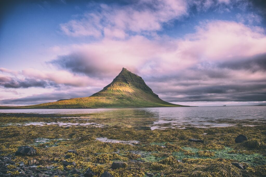 Kirkjufell mountain in Snæfellsnes Peninsula