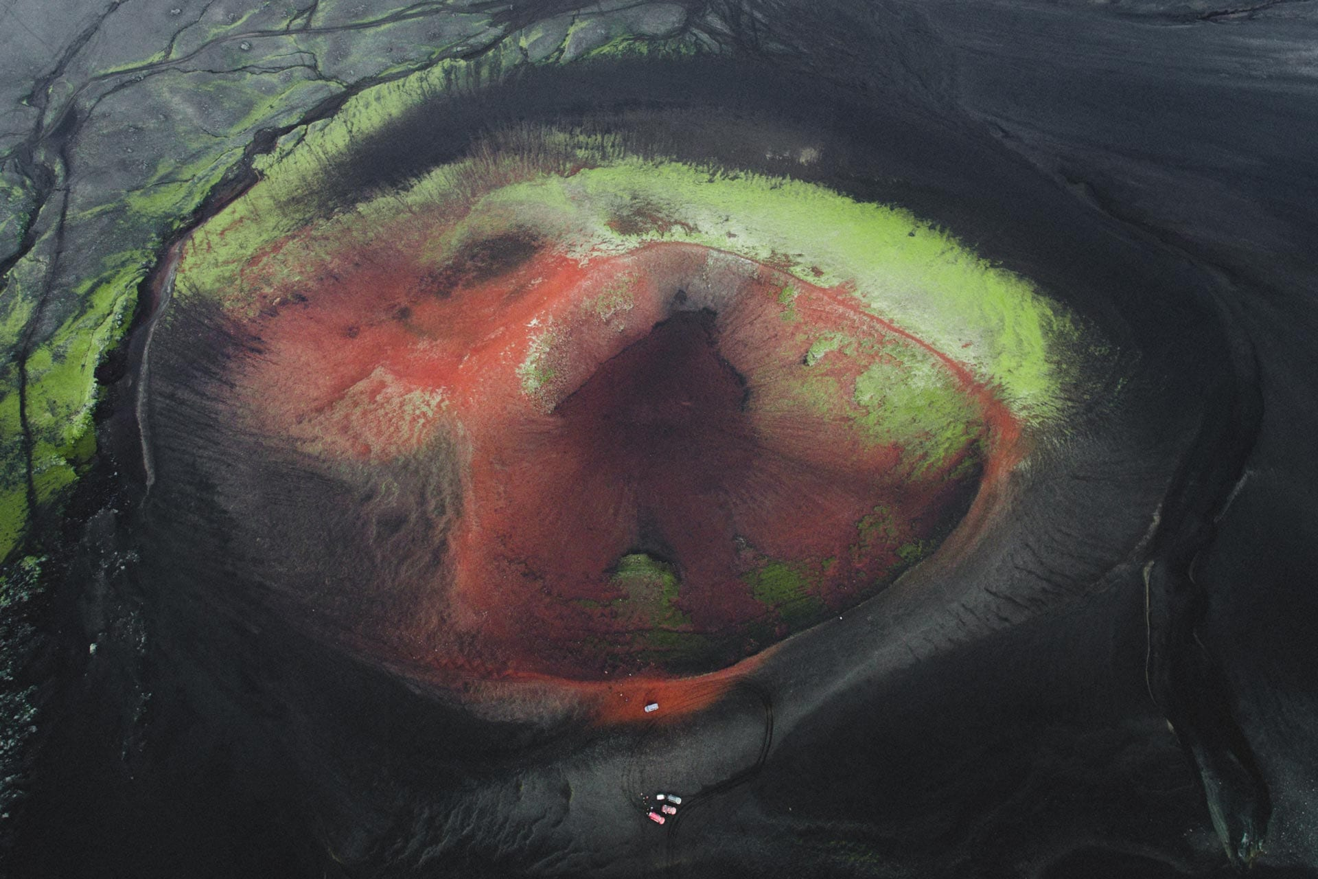 Mælifell volcano in Landmannalaugar