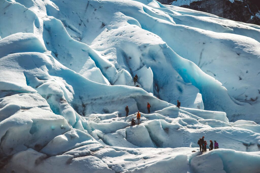 ice climbing in Iceland