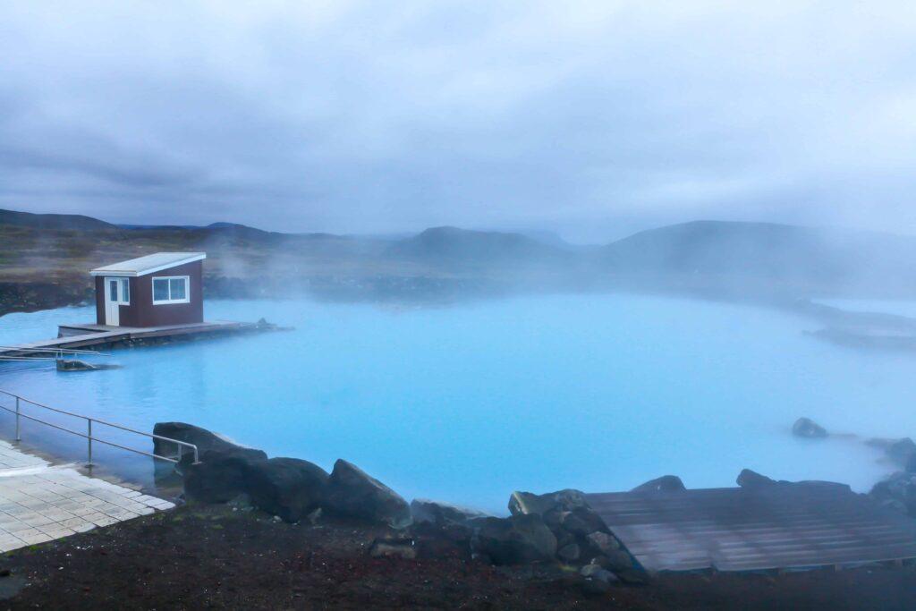 Myvatn Nature Baths in north Iceland