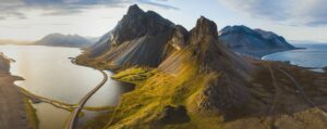 Eystrahorn mountain in East Iceland, self driving in east Iceland