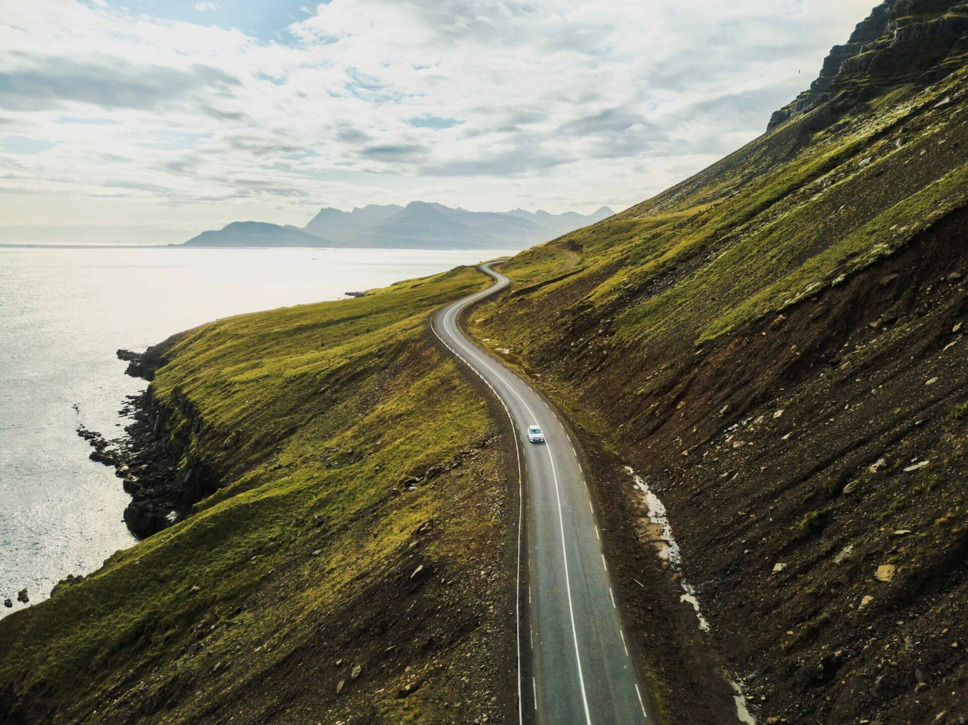 Self Driving road trip in East Iceland