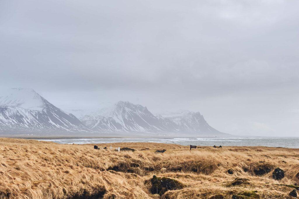 Búðir in Snæfellsnes Peninsula