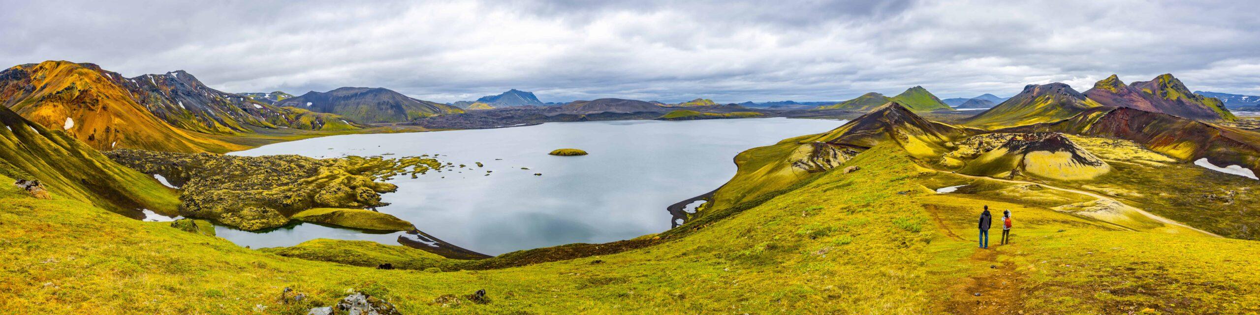 Landmannalaugar in the highlands of Iceland