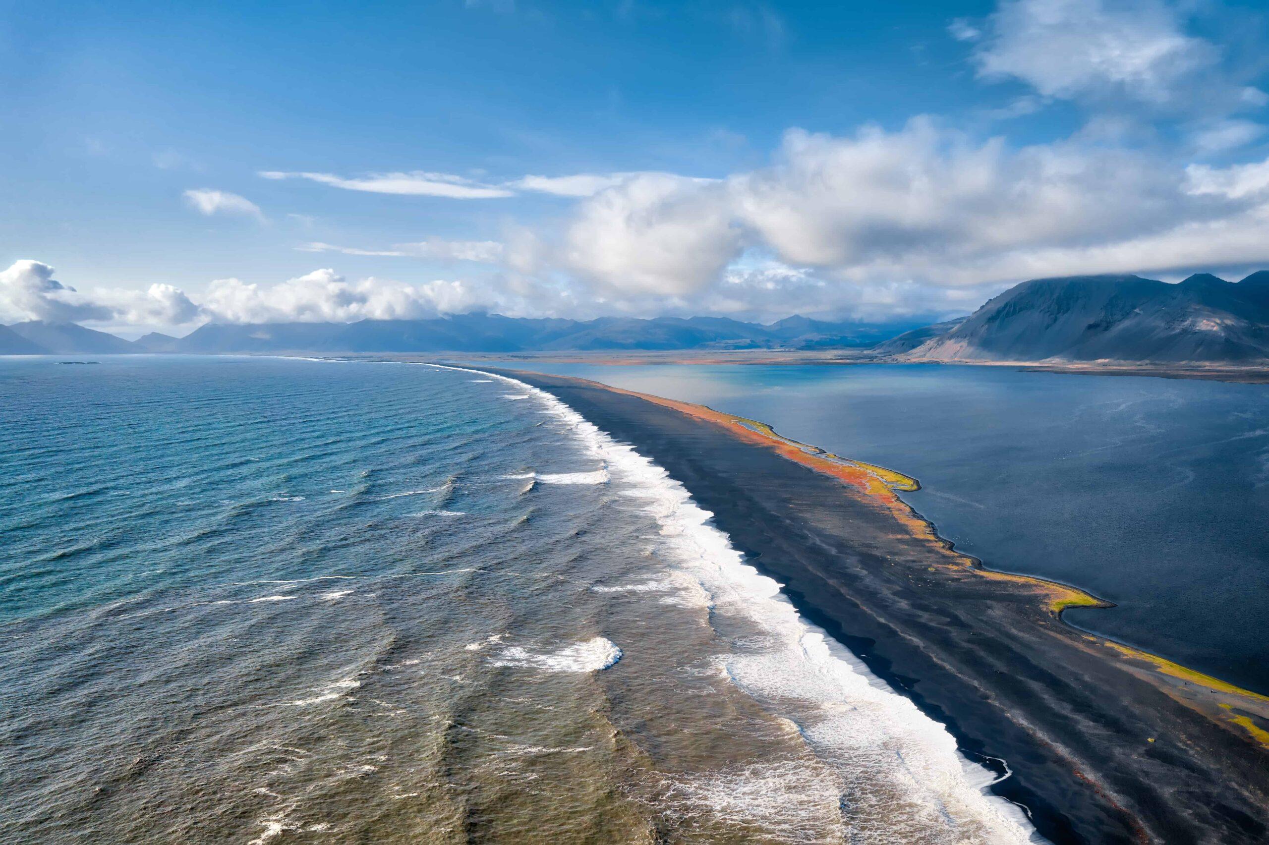 Eystrahorn mountain in East Iceland