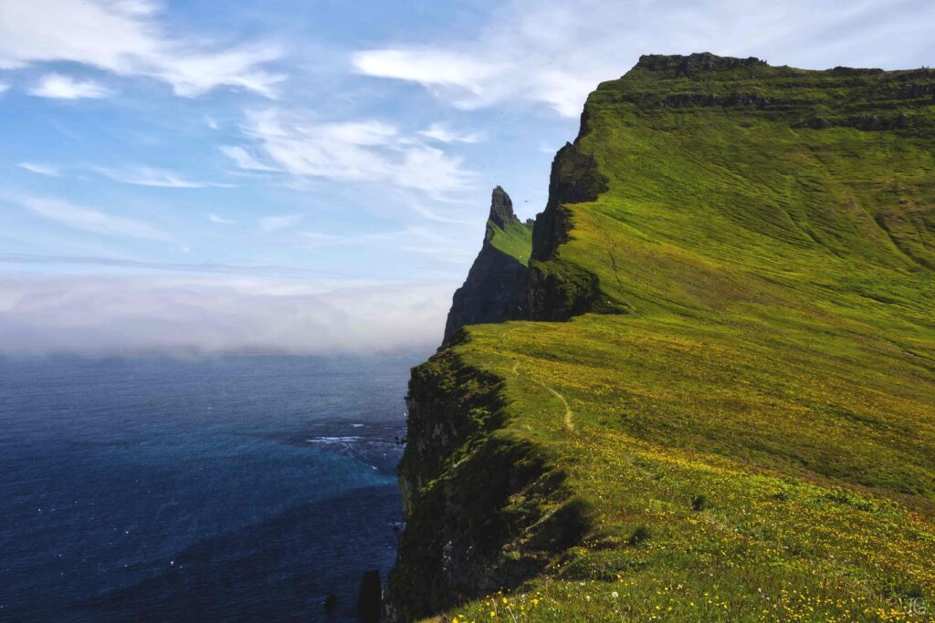 Hornstrandir Nature Reserve in Westfjords of Iceland