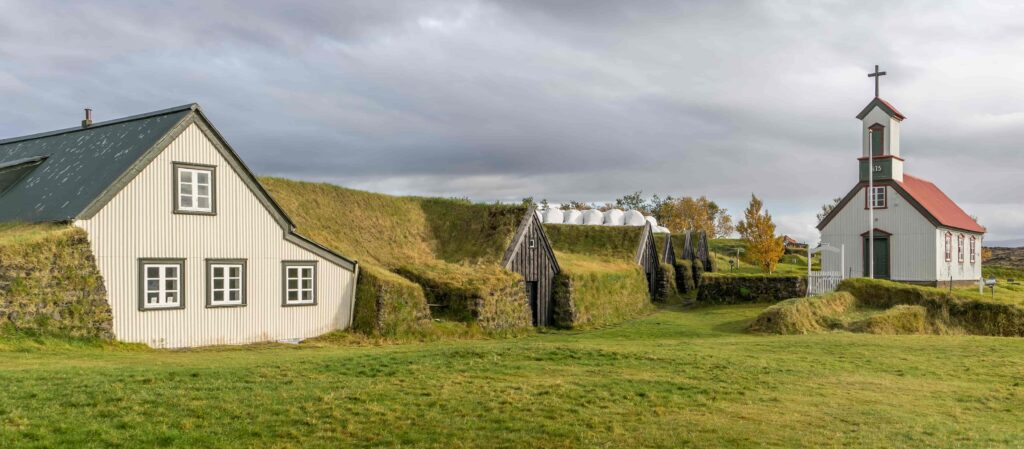 Keldur Turf House in south Iceland
