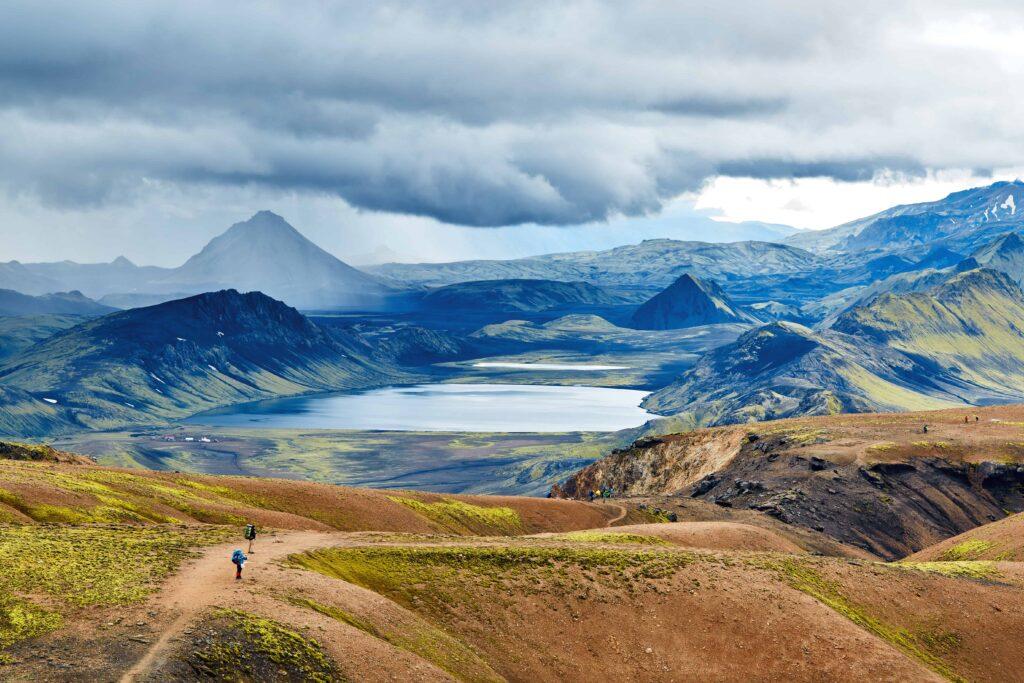 Landmannalaugar, Higlands of Iceland, Hiking in the Highlands