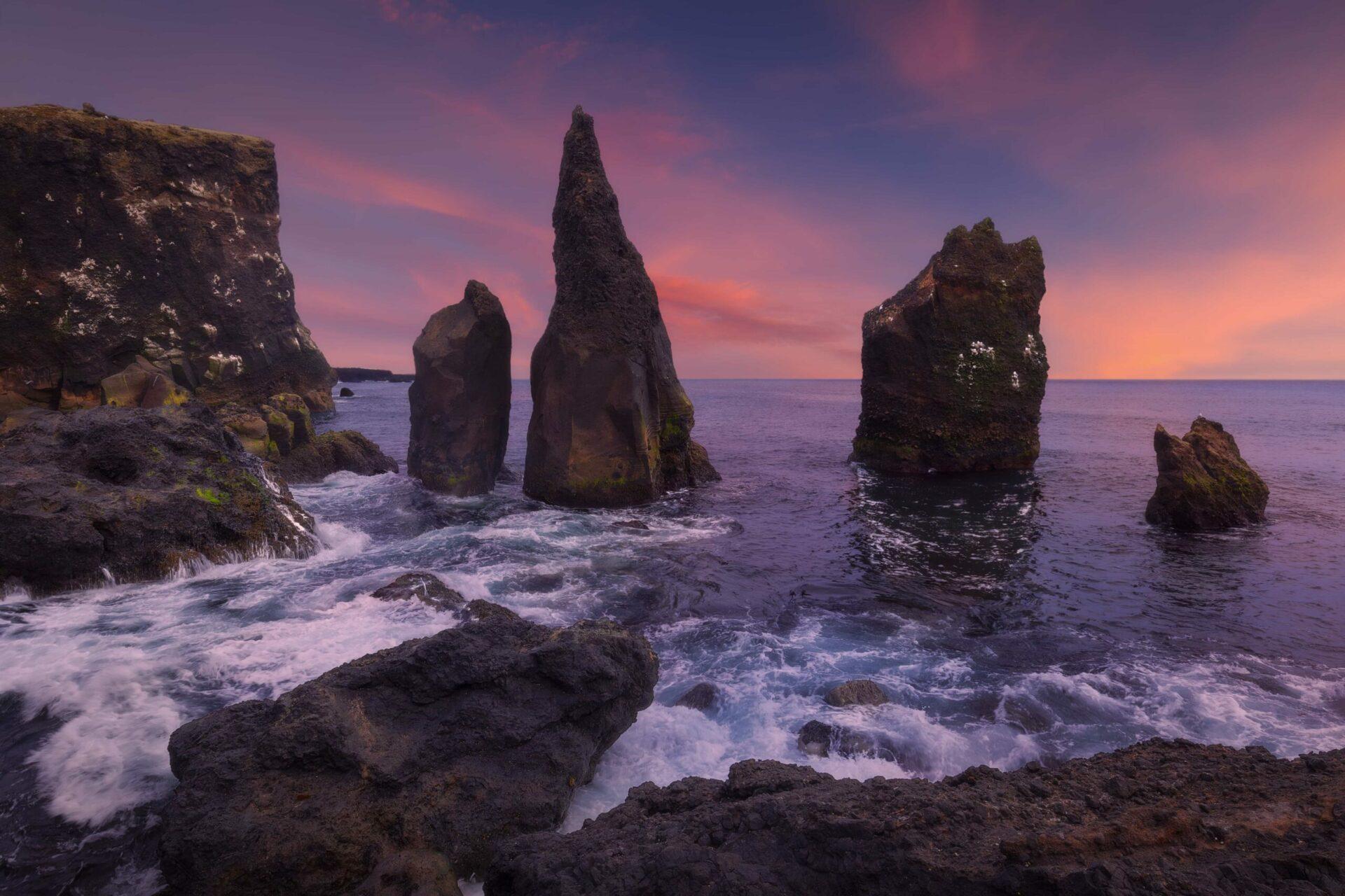 Reykjanestá: A Picturesque Landscape in Iceland