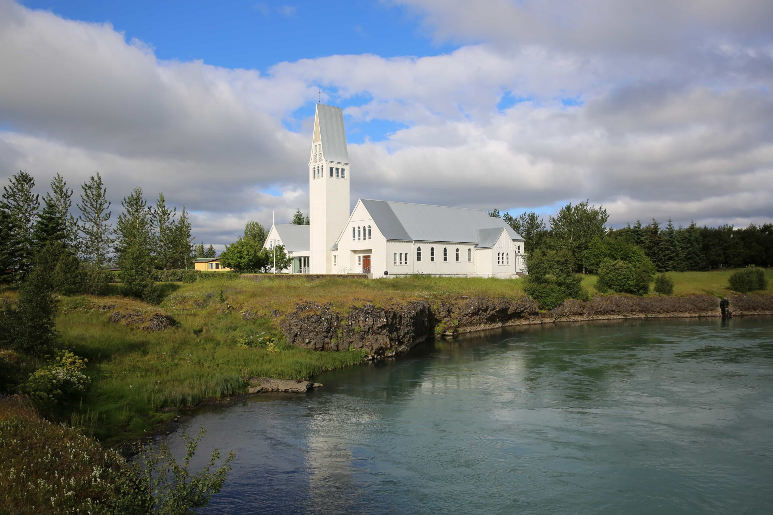 Selfoss church in south Iceland