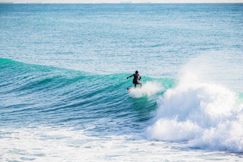 Surfing in Iceland