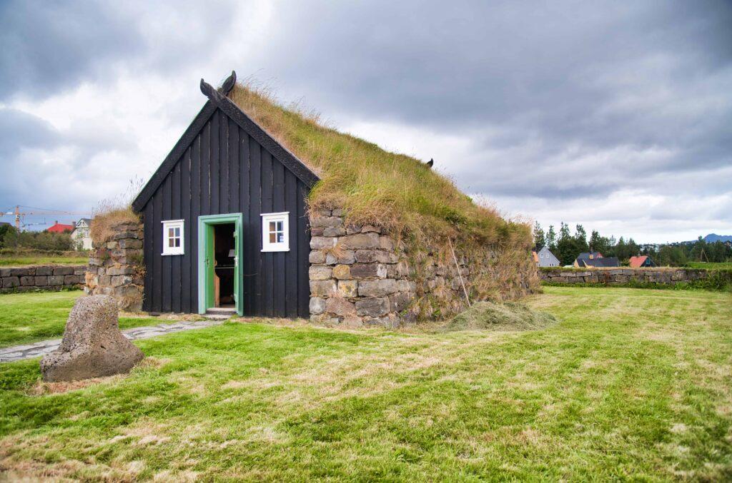 Árbæjarkirkja turf church in Reykjavik
