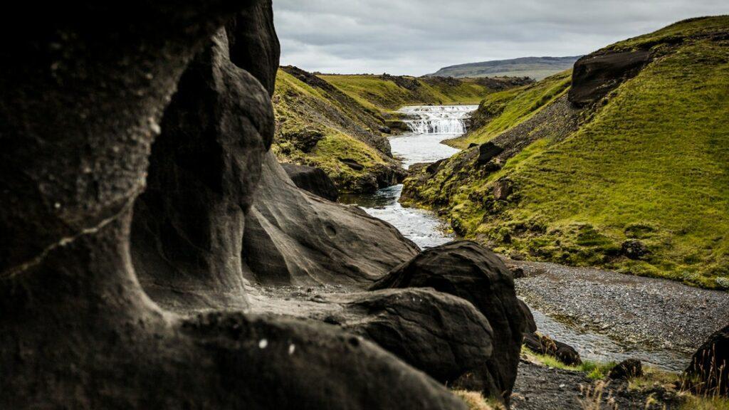 Þrihyrningur hike in south Iceland highlands