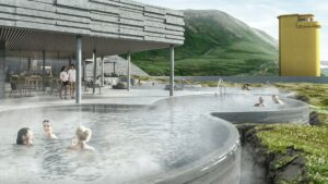 geo sea geothermal nature baths in Husavik north Iceland