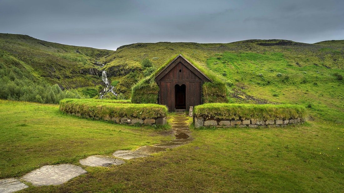 Þjoðveldisbærinn Stöng in the Game of Thrones tour in Iceland