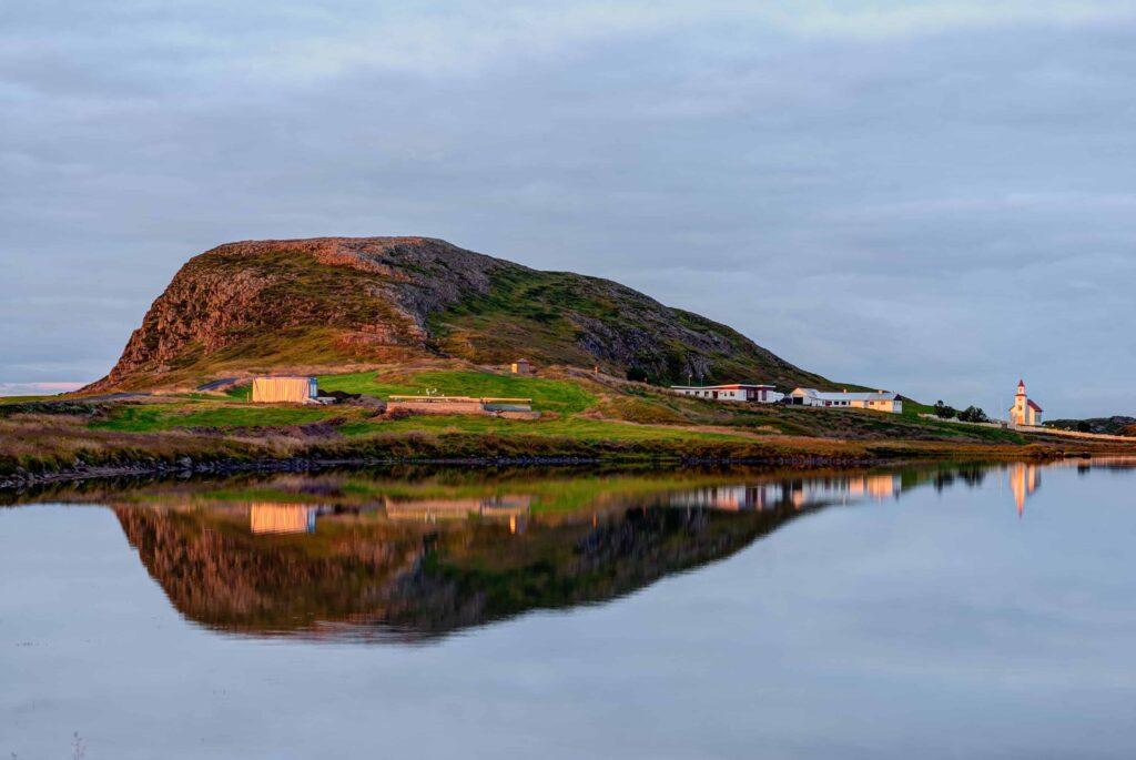 Helgafell Holy Mountain in Snæfellsnes Peninsula