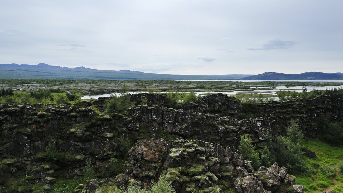 Þingvellir National Park on the Game of Thrones tour in Iceland