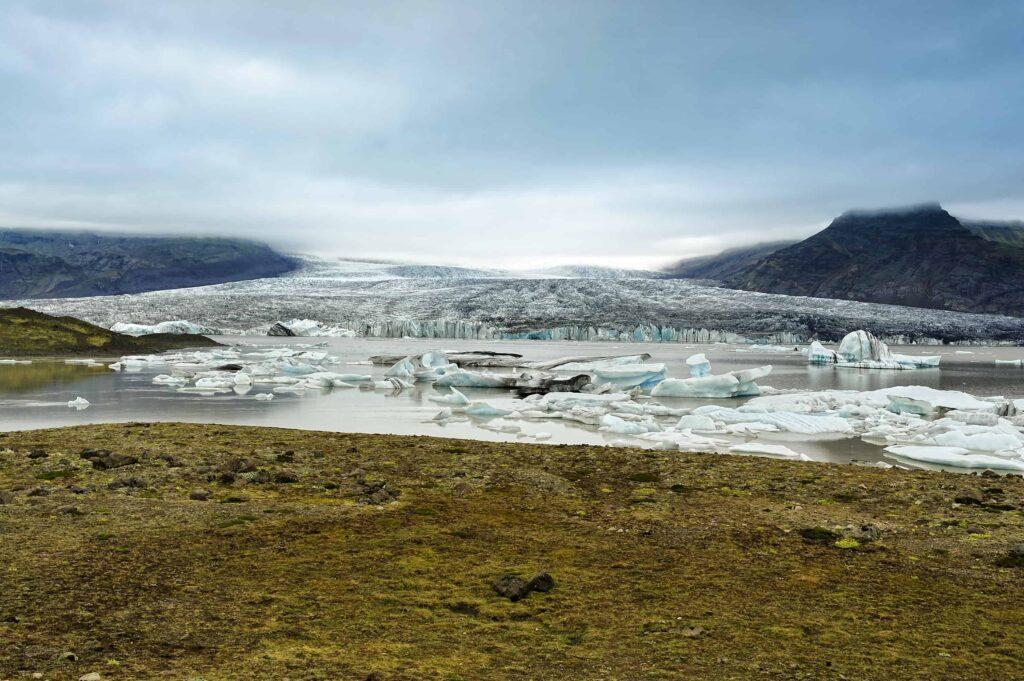 Breiðárlón glacier lagoon