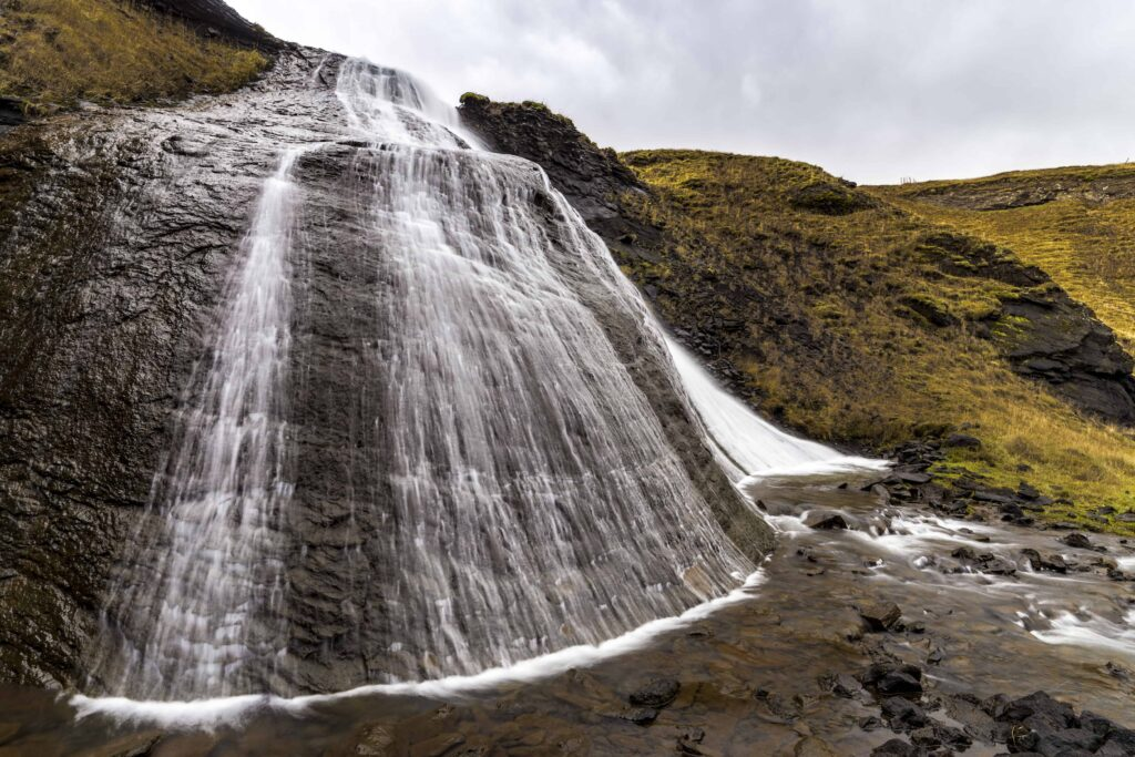 Hvítserkur waterfall in west Iceland