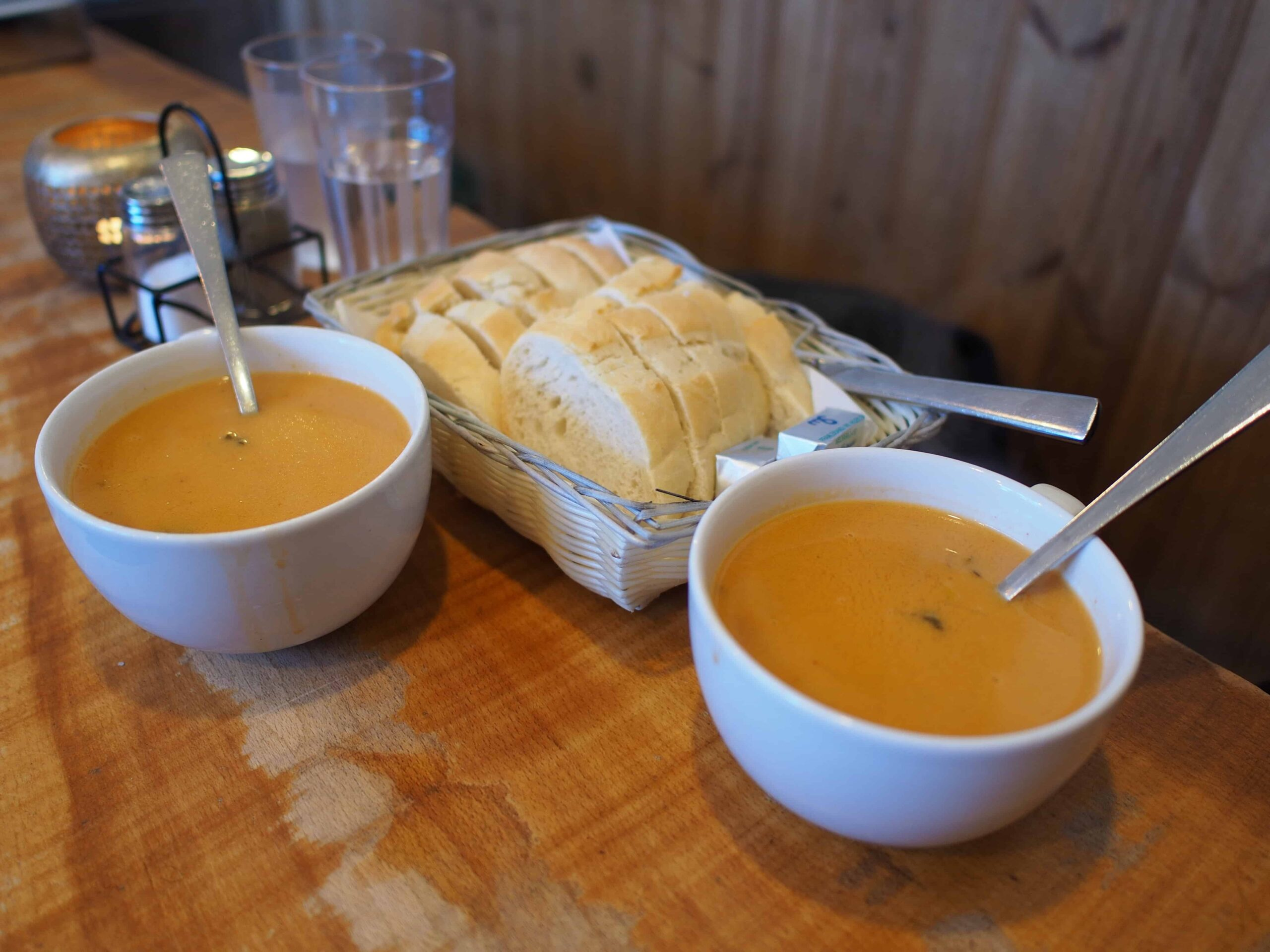 Icelandic Traditional Food, lobster soup