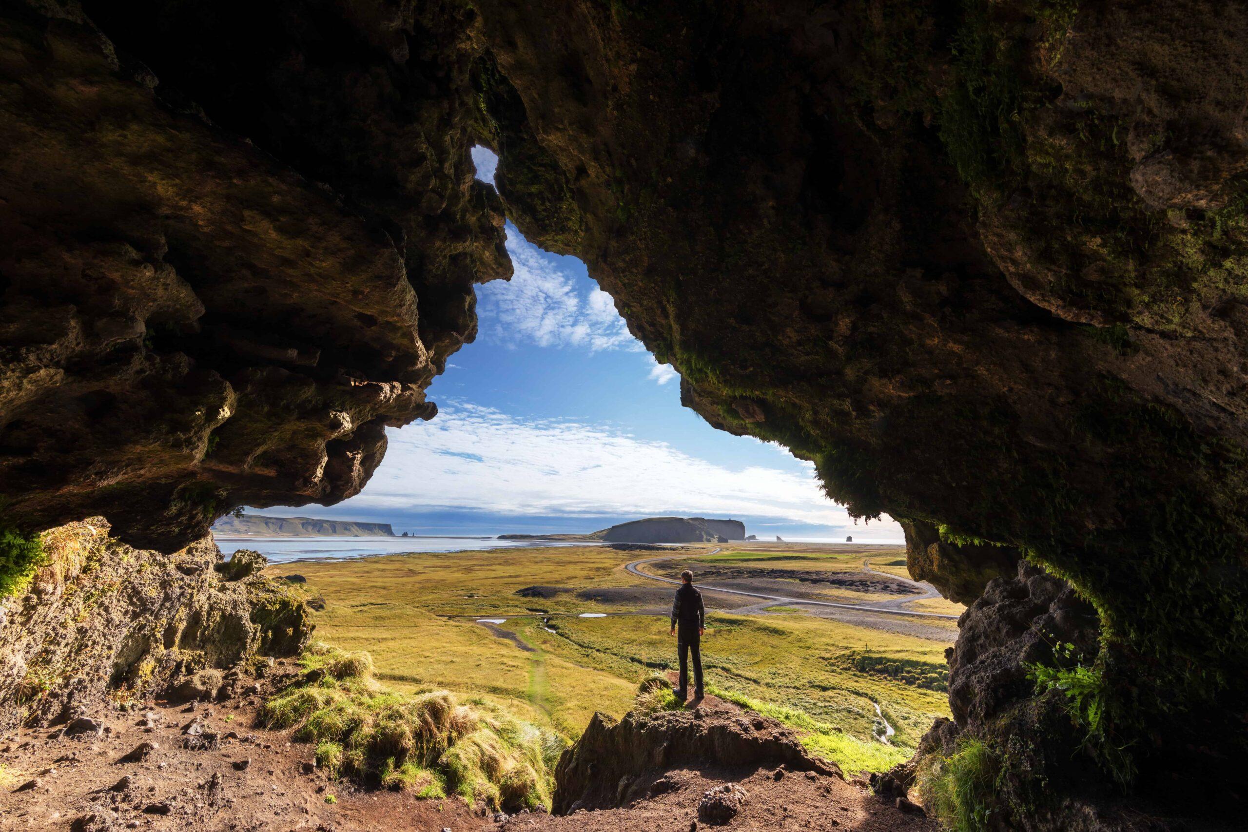 Loftsalahellir Cave - South Iceland