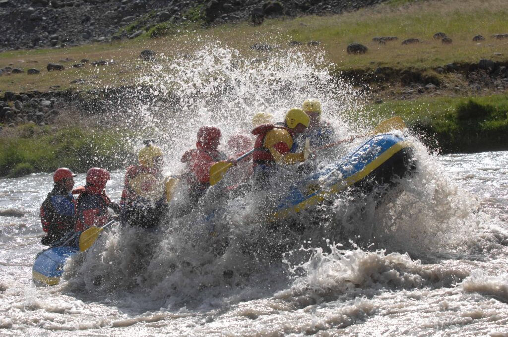 River-Rafting in Iceland