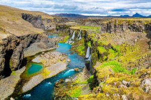 Sigöldugljúfur canyon - Highlands of Iceland