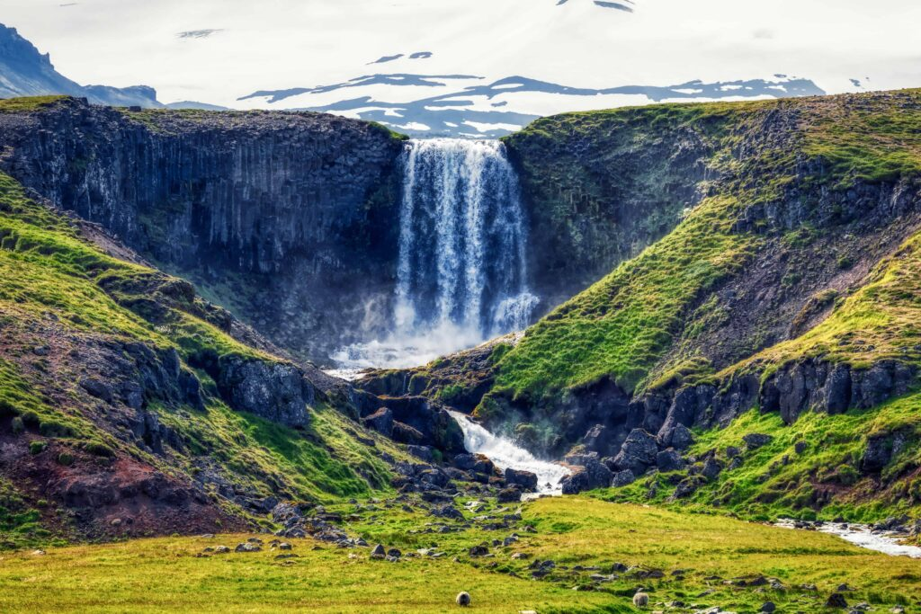 Svöðufoss waterfall - Snæfellsnes