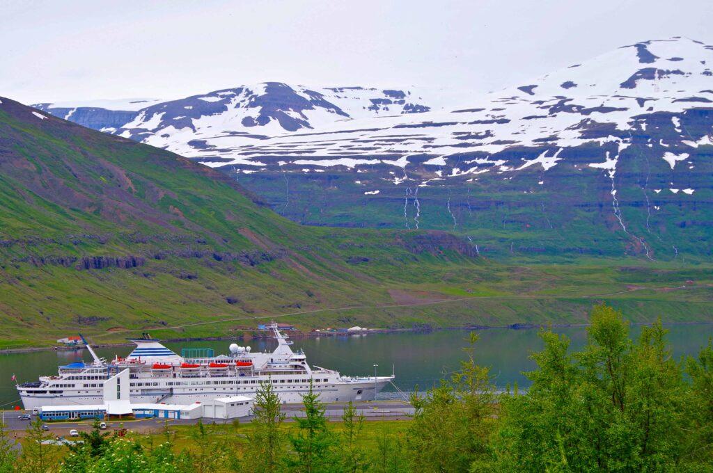 Cruise in Akureyri Iceland