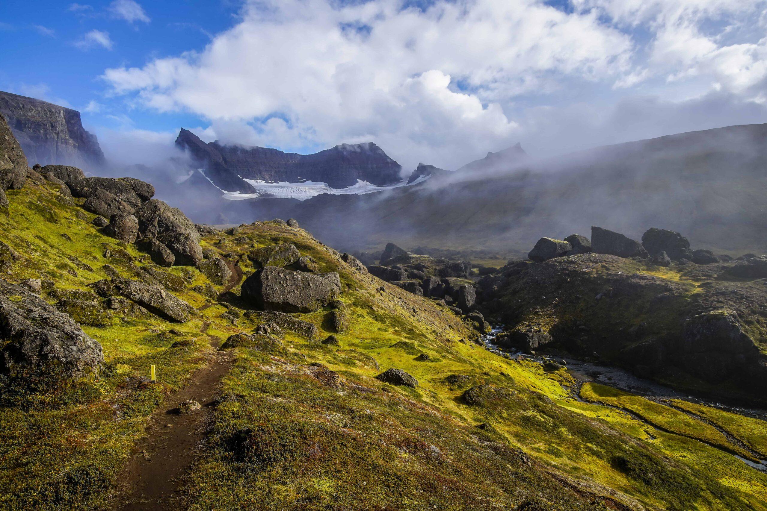 Dyrfjöll Mountains in East Iceland