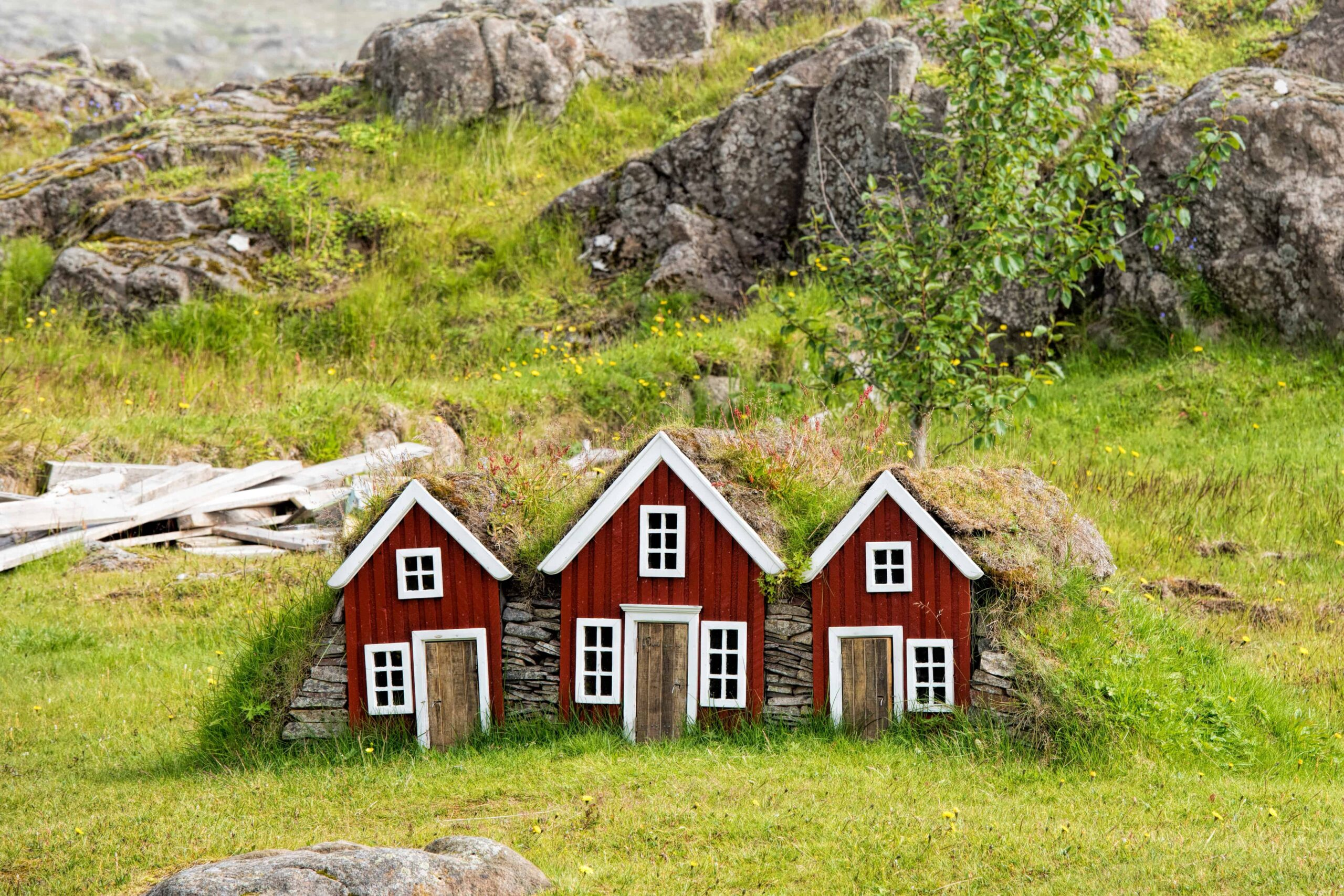 Elf house in Iceland